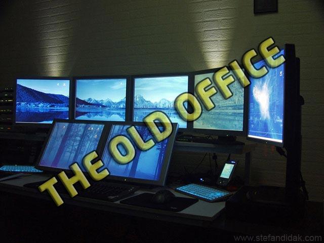 Stefan Didak Home Office Version 5, the previous setup