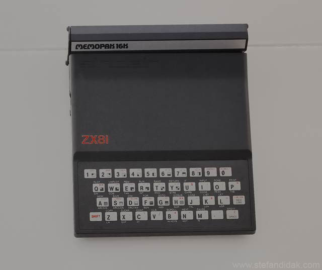 Stefan Didak Home Office Version 5 ZX81