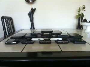 A lot of external USB and eSATA harddisks