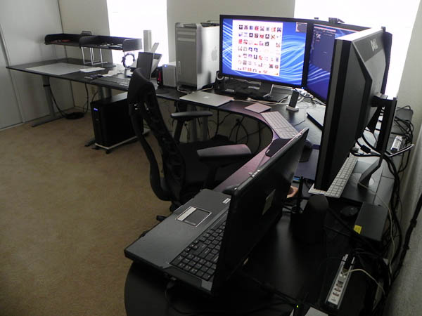 Stefan Didak New Home Office Cabling Complete