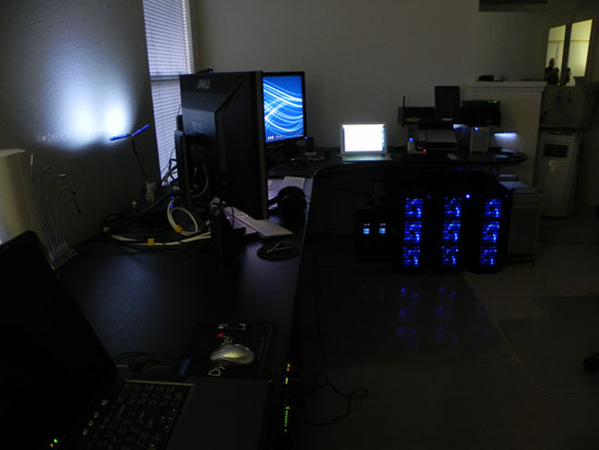 Stefan Didak's New and Second Home Office in Oakley, California, Final Intermediate Stage