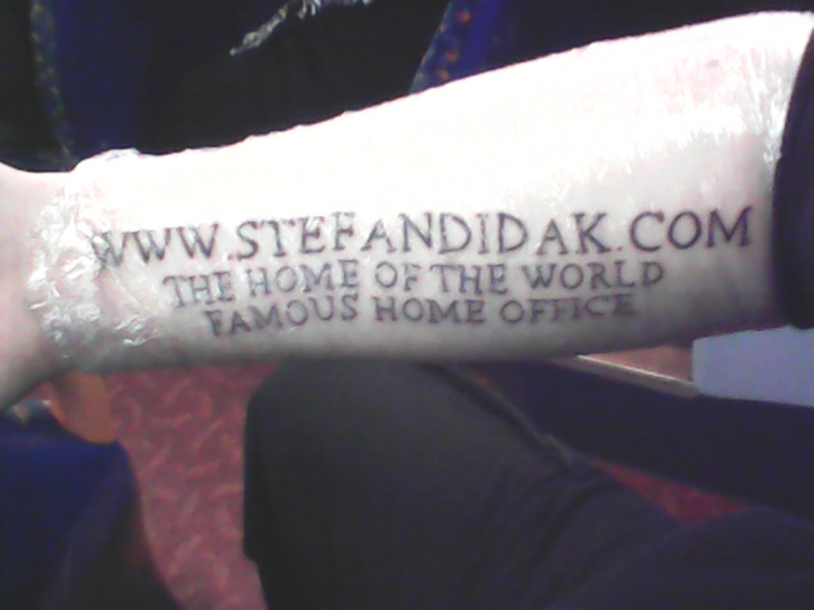 Steven Dray Home Office Tattoo