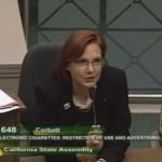 Sallie speaking in support of SB648